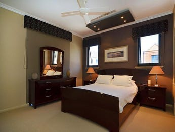 Brown bedroom design idea from a real Australian home - Bedroom photo 7484433