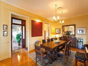Brown dining room idea from a real Australian home - Dining Room photo 720524