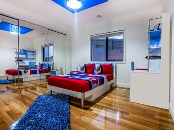 Blue bedroom design idea from a real Australian home - Bedroom photo 16996229