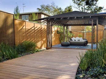 Outdoor living design with deck from a real Australian home - Outdoor Living photo 495136