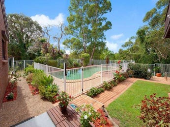 Modern garden design using brick with bbq area & latticework fence - Gardens photo 305621