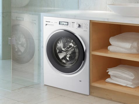 8KG FRONT LOADER WASHING MACHINE Sensor technology detects the needs of each wash load and adjusts according, while a very clever stain removal feature ensures that no matter how dirty your clothes are, they will come out pristine and perfect.