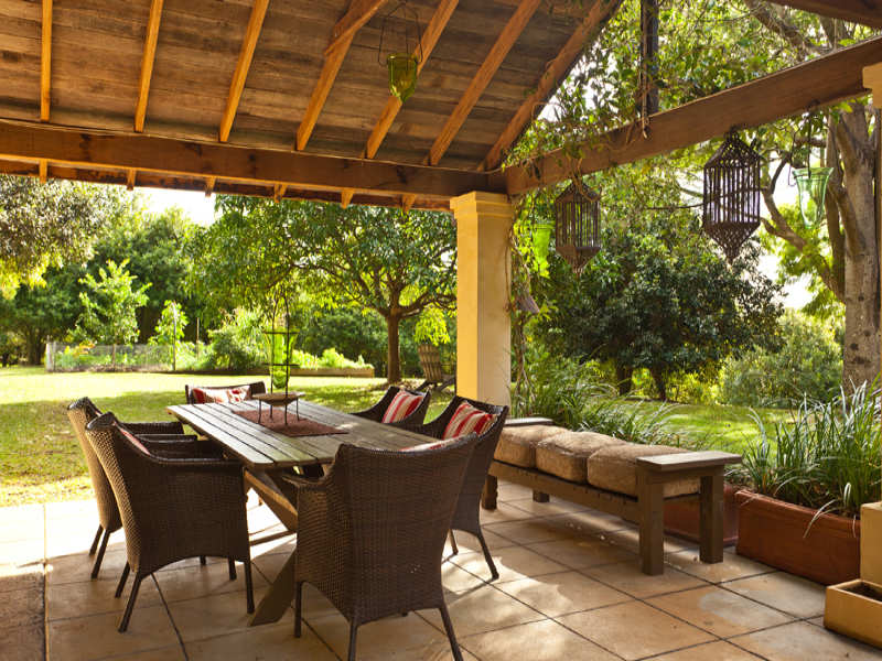 Photo of an outdoor living design from a real australian Outdoor living areas images