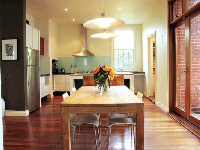 Country Kitchen Dining Kitchen Design Using Floorboards Kitchen Photo 436712