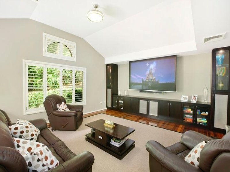 Cream living room idea from a real australian home for Living area interior