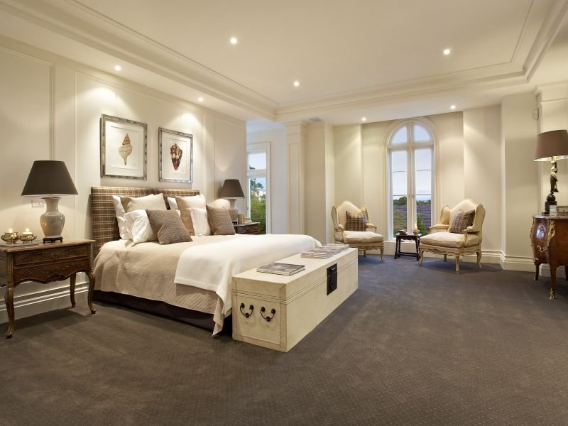 Cream bedroom design idea from a real australian home for Different bedroom styles
