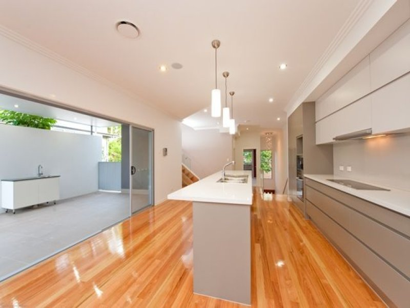Floorboards in a kitchen design from an Australian home - Kitchen Photo 350462