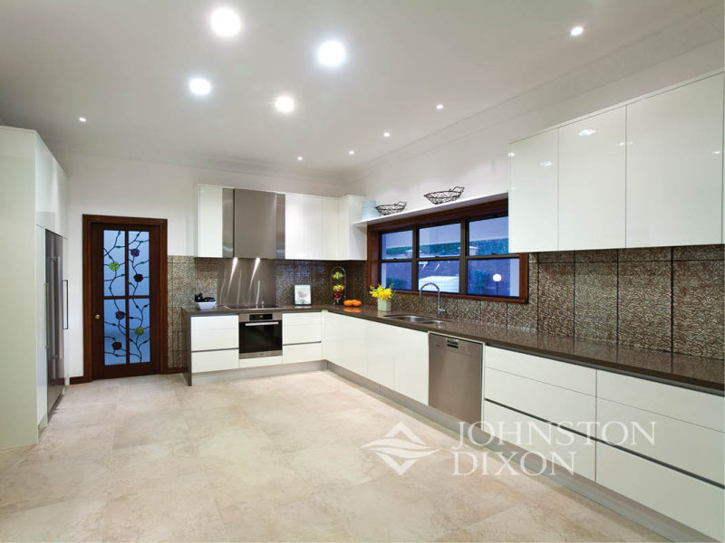 L shaped modern bungalow joy studio design gallery for Contemporary l shaped kitchen designs