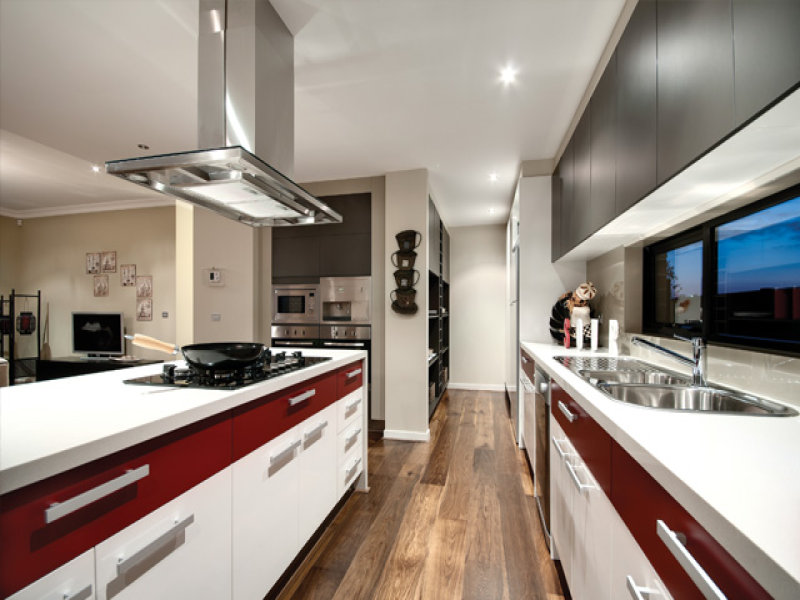 Laminate In A Kitchen Design From An Australian Home Kitchen Photo 115872