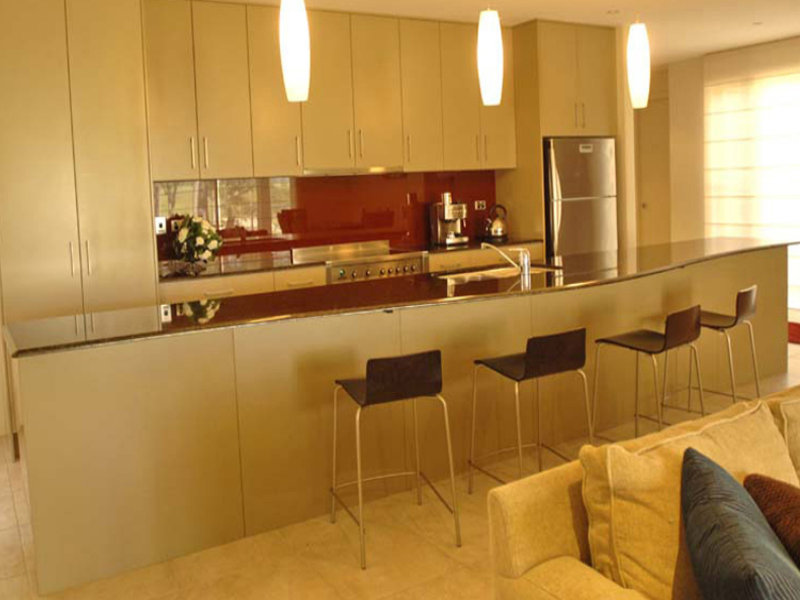 Pendant Lighting In A Kitchen Design From An Australian Home Kitchen Photo 455986
