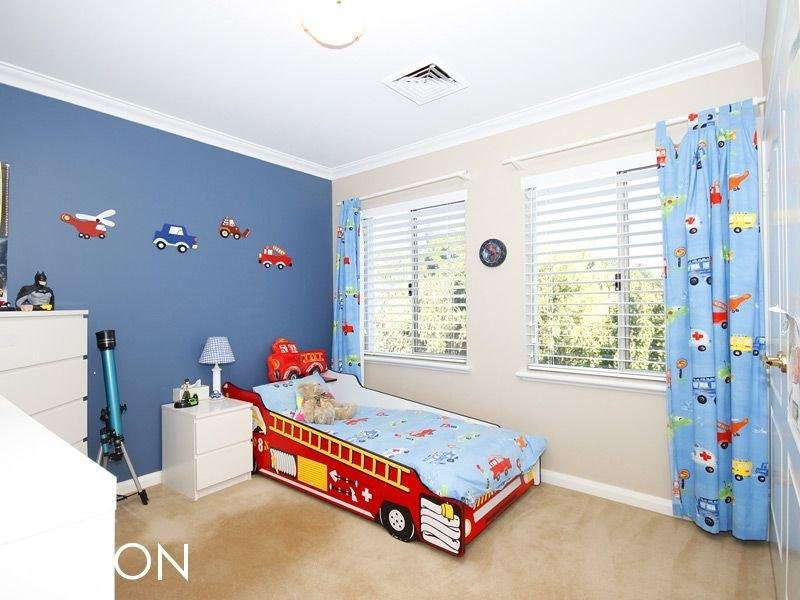 Blue bedroom design idea from a real Australian home - Bedroom photo 398671
