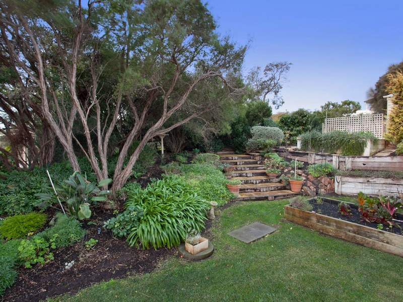 Garden Design Using Grasses garden design using grass with bbq area & rockery - gardens photo