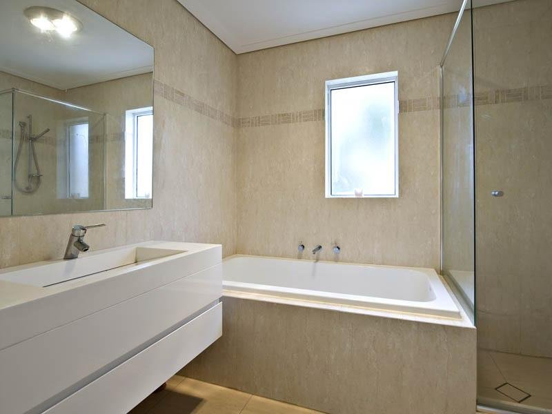 Images Of Bathrooms Modern Bathroom Design With Corner Bath Using Marble