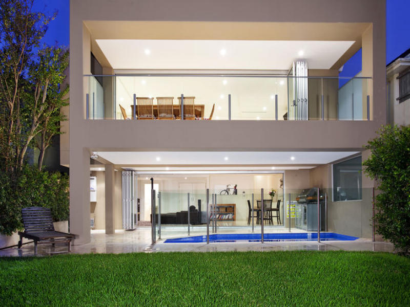 Photo of a house exterior design from a real australian house house facade photo 237554