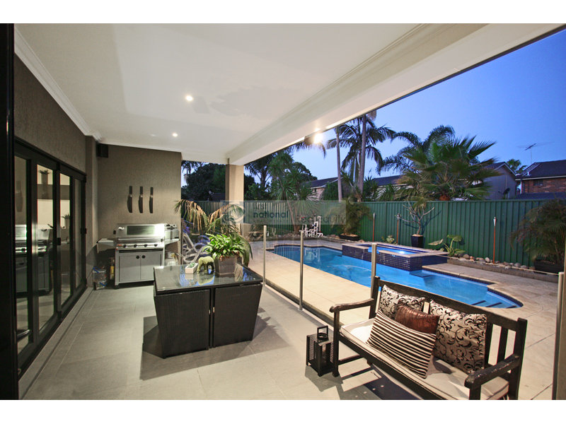Outdoor living design with bbq area from a real Australian ...