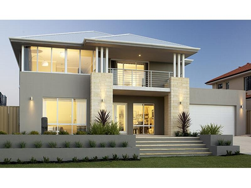 Photo of a concrete house exterior from real Australian home - House Facade photo 238876