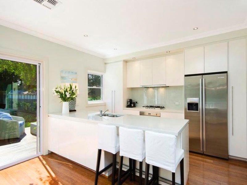 Floorboards in a kitchen design from an Australian home - Kitchen Photo 405913