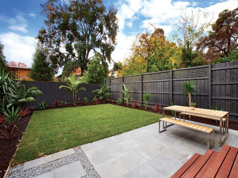 Small Landscaped Gardens Gallery Of Small Backyard Deck Ideas