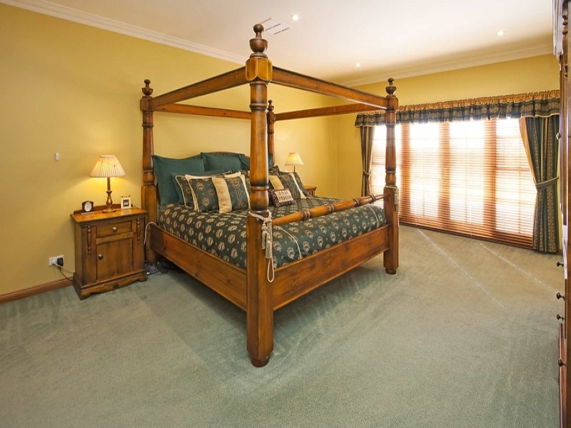 Brown bedroom design idea from a real Australian home - Bedroom photo 352991