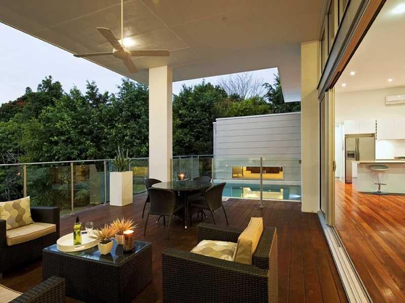 piscina sul balcone
