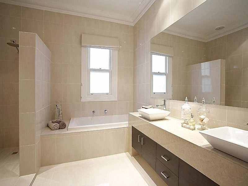Ceramic in a bathroom design from an australian home bathroom photo 343445 - Bathroom decorating ideas australia ...