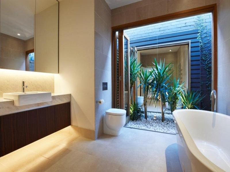 Modern bathroom design with freestanding bath using granite bathroom photo 304771 Modern australian bathroom design