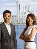 Sam Guo and Julia Kuo, Ray White - Broadbeach