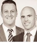 Travis Denham & Craig Thomson, Magain Real Estate - Ascot Park / Glenelg / Happy Valley / Morphett Vale / Seaford / Woodcroft
