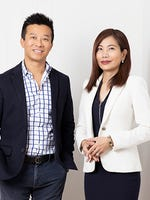 Sam Guo and Julia Kuo