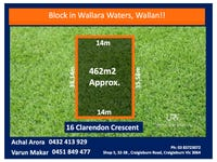 16 CLARENDON CRESCENT, Wallan, Vic 3756