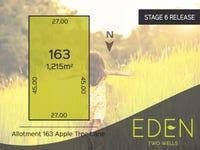 Lot 163 Apple Tree Lane, Two Wells, SA 5501