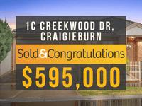 1C Creekwood Drive, Craigieburn, Vic 3064