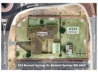 233  BENNETT SPRINGS DRIVE, Bennett Springs, WA 6063