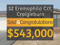 12 Eremophila Circuit, Craigieburn, Vic 3064