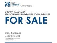 61A Longwarry-Drouin Road, Drouin, Vic 3818