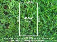 Lot 113, 257 The Lakes Boulevard, South Morang, Vic 3752