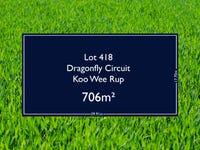Lot 418 Dragonfly Circuit, Koo Wee Rup, Vic 3981
