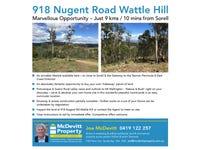 Lot 6, 918 Nugent Road, Wattle Hill, Tas 7172