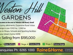 Lots 1-35 Weston Hill Gardens (off Weston Hill Road), Sorell, Tas 7172