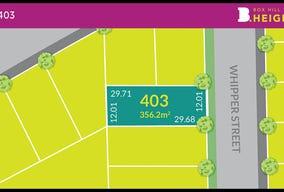 Lot 403 at Box Hill Heights, Box Hill, NSW 2765