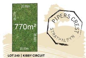 Lot 240, Kibby Circuit, Strathalbyn, SA 5255
