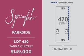Lot 420, Tarra Circuit, Mount Barker, SA 5251