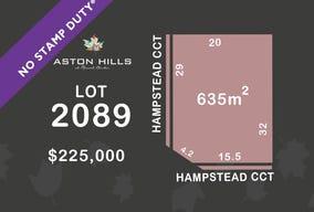 Lot 2089, Hampstead Circuit, Mount Barker, SA 5251