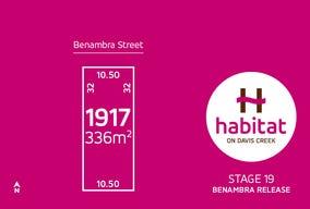 Lot 1917, Benambra Street, Tarneit, Vic 3029