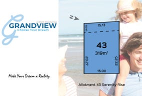 Lot 43 Serenity Rise, Port Noarlunga, SA 5167