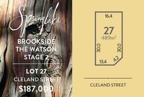 Lot 27, Cleland Street, Mount Barker, SA 5251