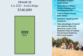 Lot 2222, 19 Jockia Ridge, Grovedale, Vic 3216