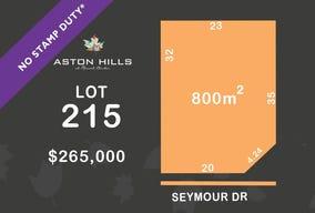 Lot 215, Seymour Drive, Mount Barker, SA 5251