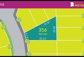 Lot 316 Land at Box Hill Heights, Box Hill, NSW 2765