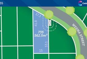 Lot 735 at Caddens Hill, Caddens, NSW 2747